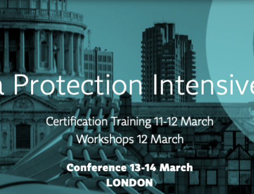 IAPP Data Protection Intensive UK 2019