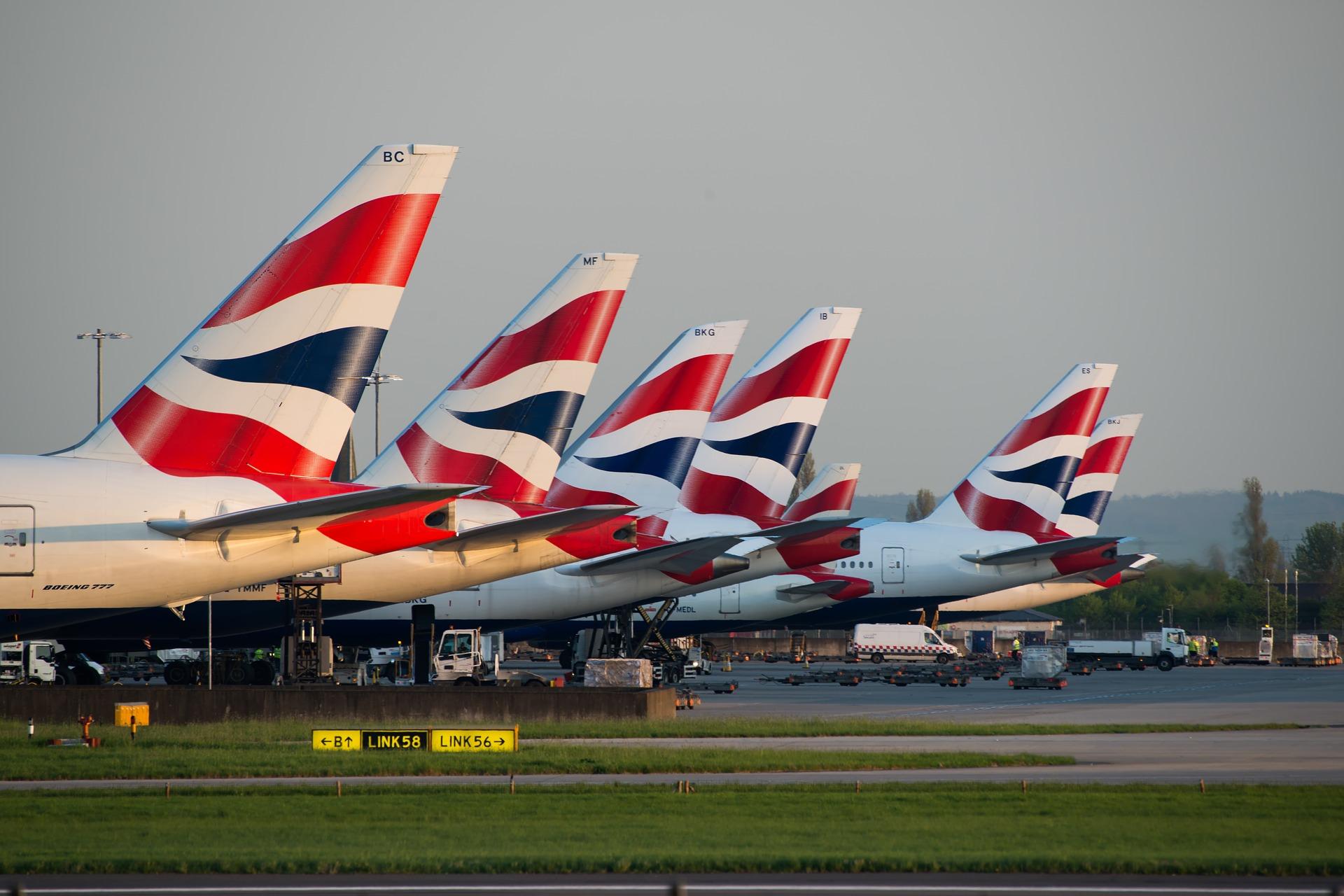 British airways planned