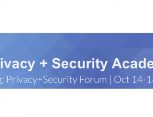 Privacy and Security Forum (Washington DC)